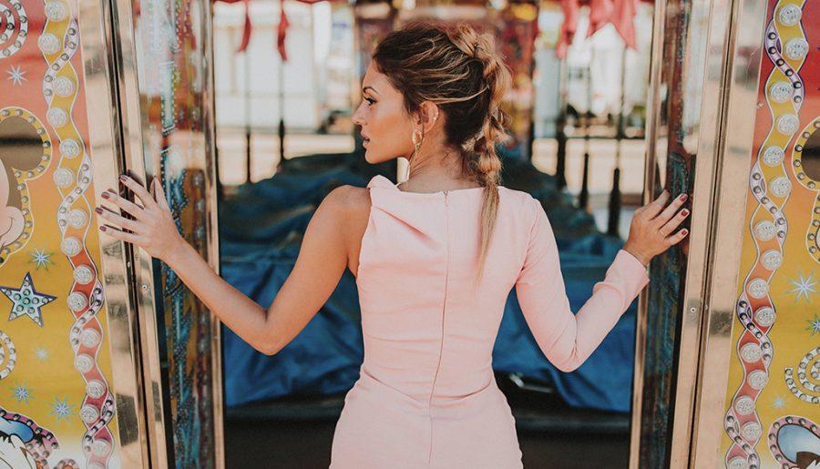 Vestido de invitada: Sweet Pink