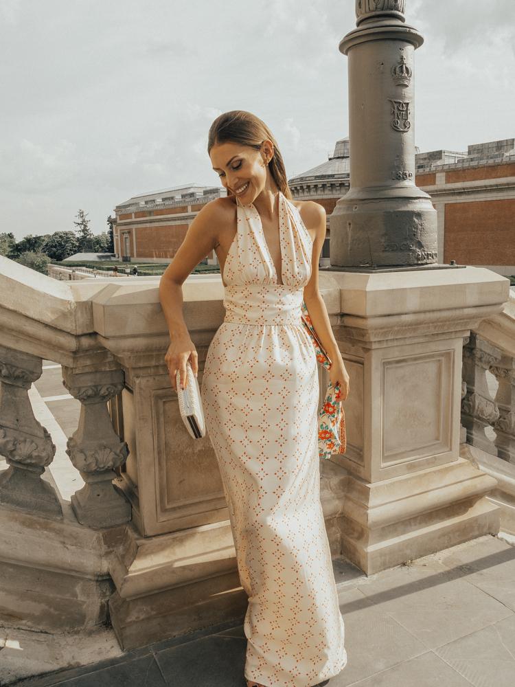 vestido de invitada de intropia: las rozas village - bridalada